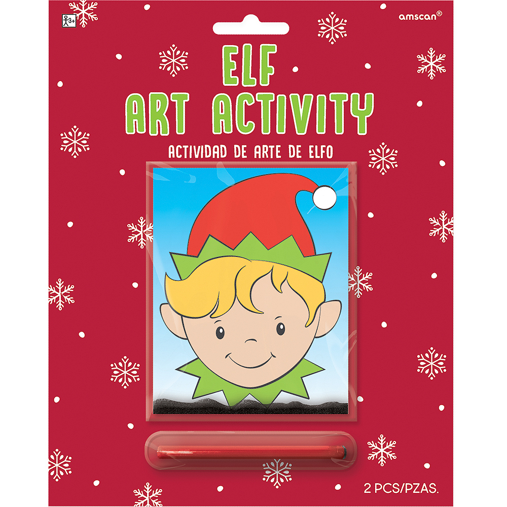 Elf Art Activity Kit Image #1
