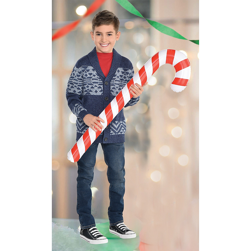 Inflatable Candy Cane Image #1