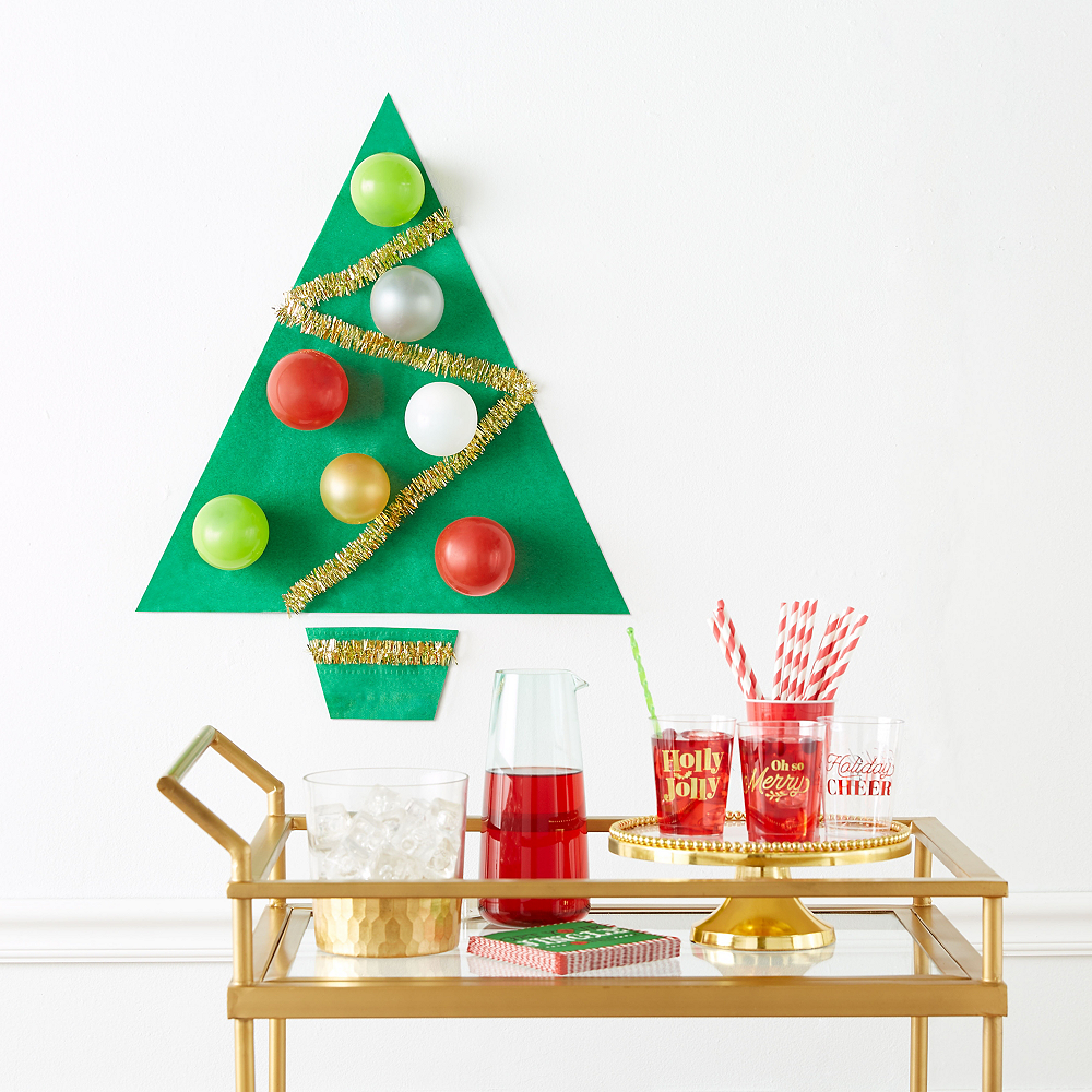 Metallic Holiday Plastic Cups 20ct Image #3