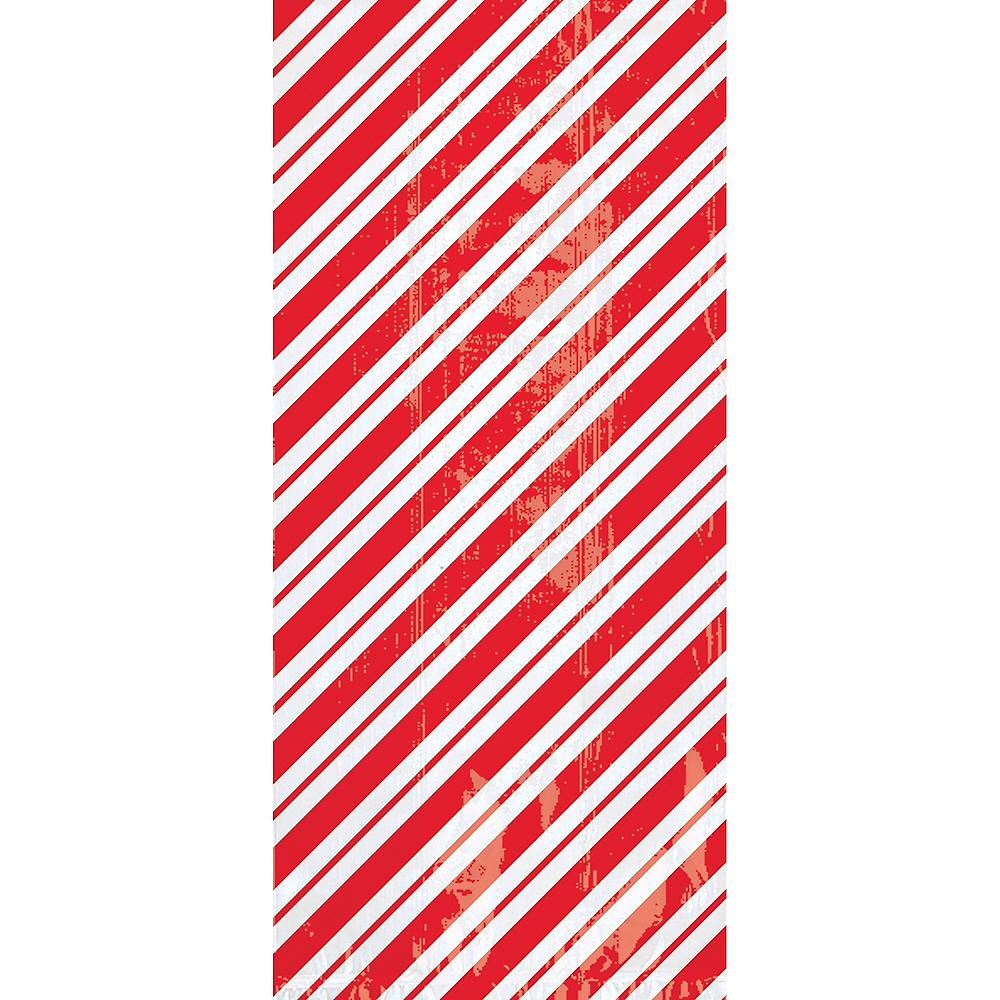 Candy Cane Stripe Treat Bags 20ct Image #1