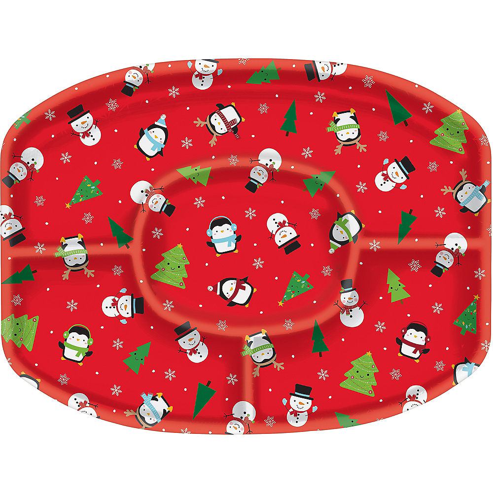 Snowy Friends Sectional Platter Image #1