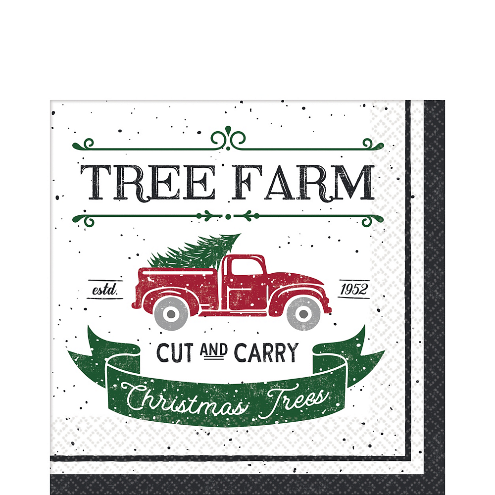 Nav Item for Tree Farm Lunch Napkins 16ct Image #1