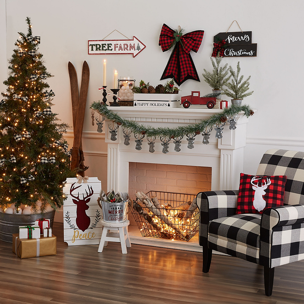 Small Wooden Christmas Crate Image #2