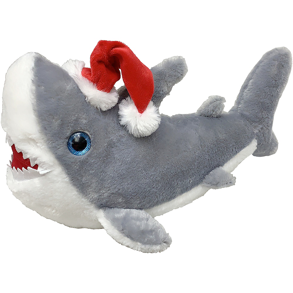 Christmas Shark Plush Toy Image #1