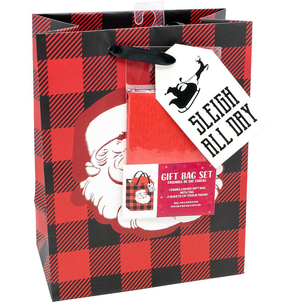 Sleigh All Day Santa Gift Bag Set Image #2