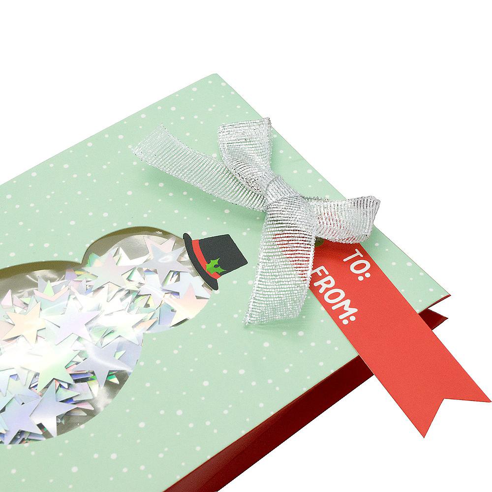 Mint Snowman Gift Card Holder Image #2