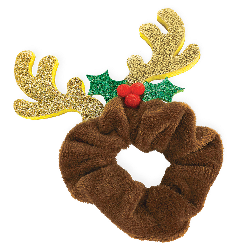 Holiday Reindeer Scrunchie Image #1