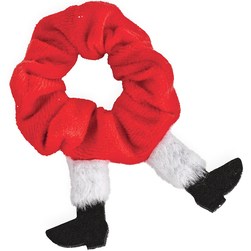 Holiday Santa Scrunchie Image #1
