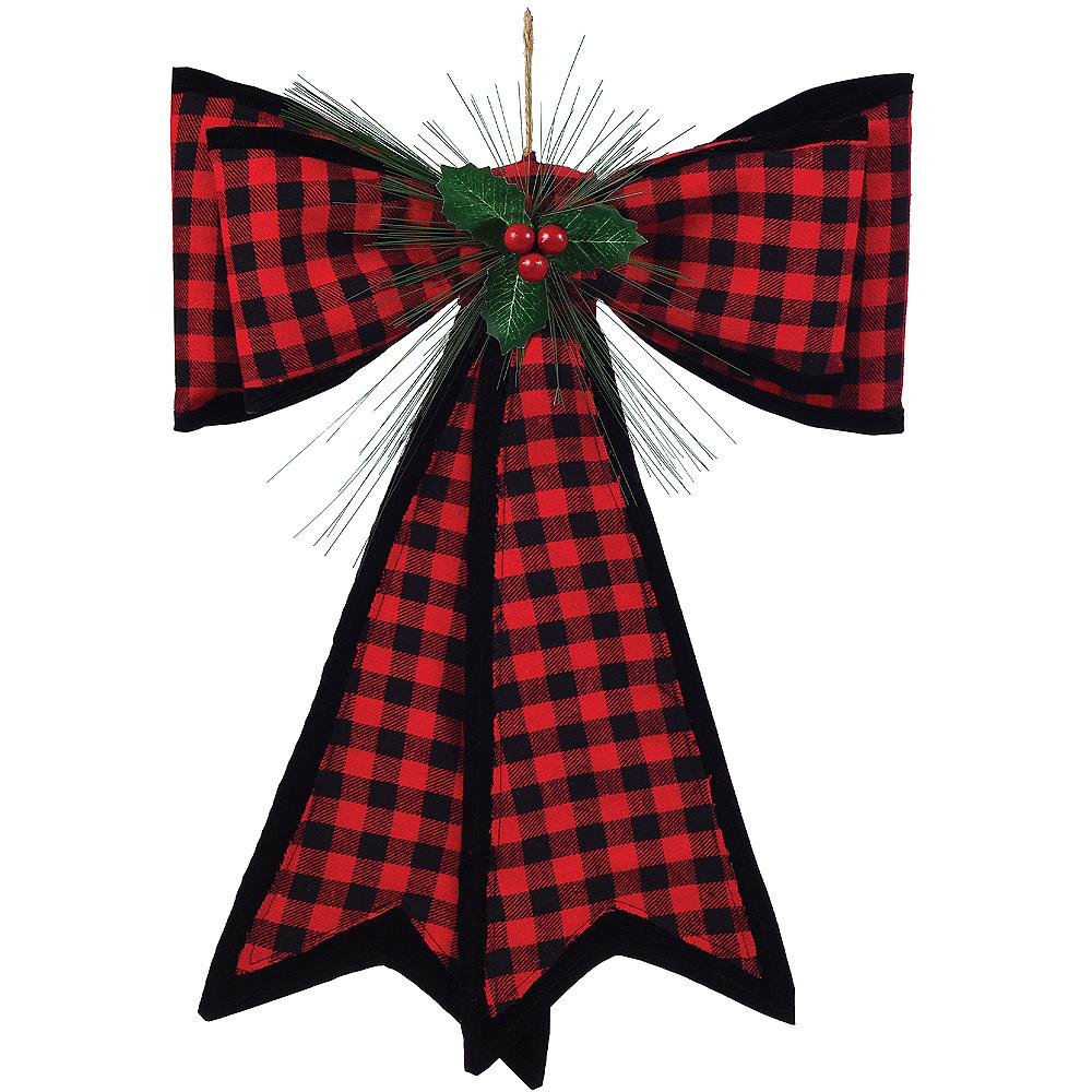 Traditional Plaid Bow Image #1