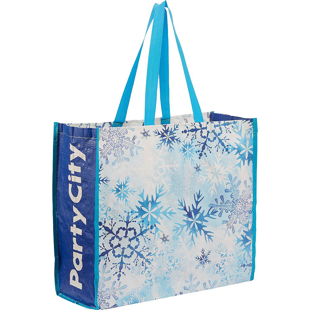 Nav Item for Snowflake Tote Bag Image #1