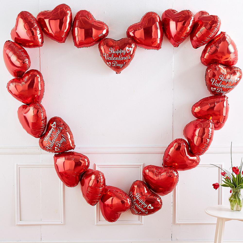 Valentine's Day Balloon Heart Kit Image #1