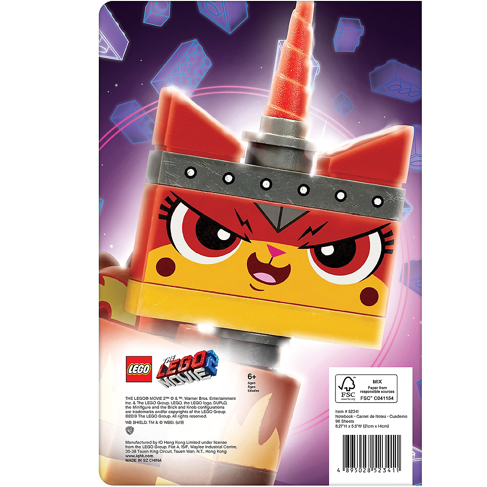 Lego Movie 2: The Second Part Unikitty Notebook Image #2