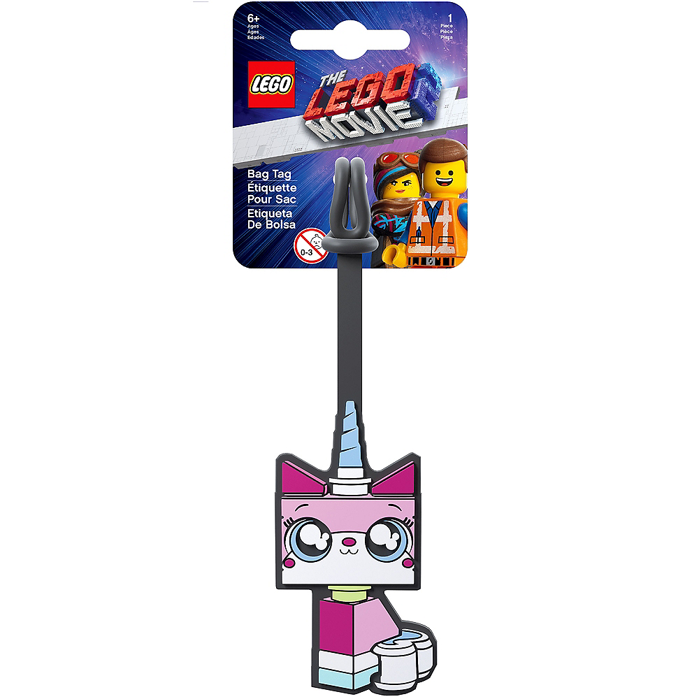 Lego Movie 2: The Second Part Unikitty Luggage Tag Image #2