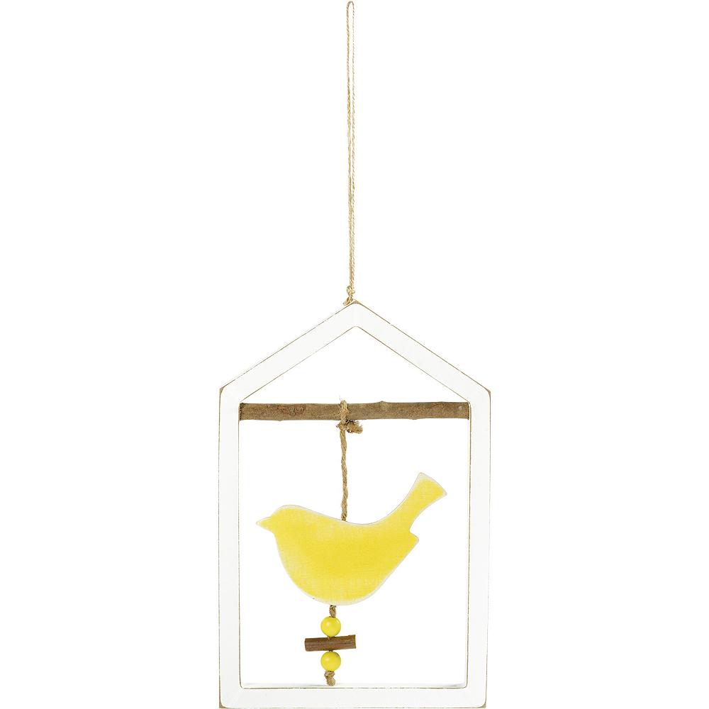 Yellow Bird Frame Sign Image #1