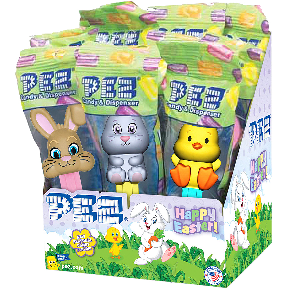Easter PEZ Dispensers 12ct Image #1