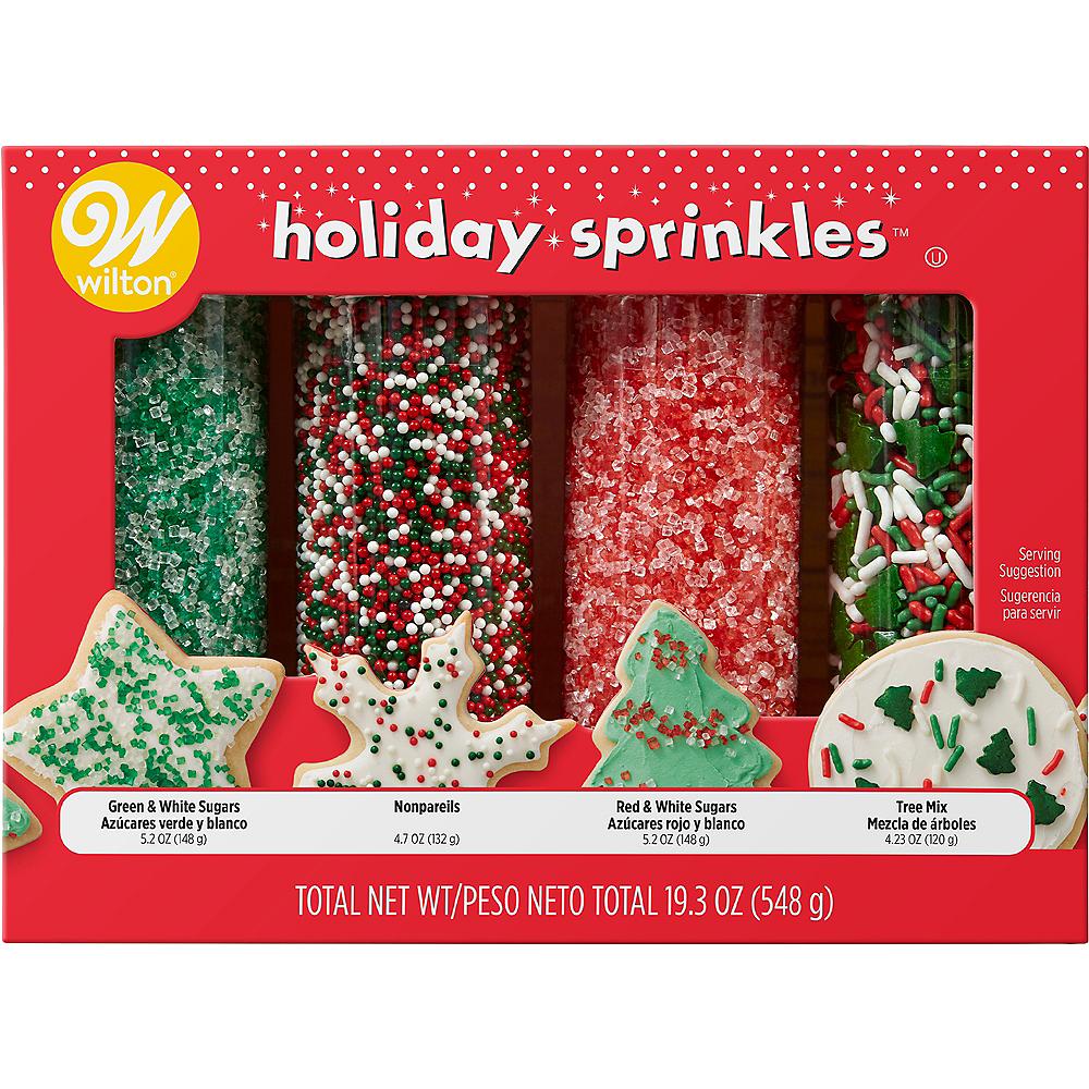 Wilton Traditional Christmas Sprinkles 4pk Image #3