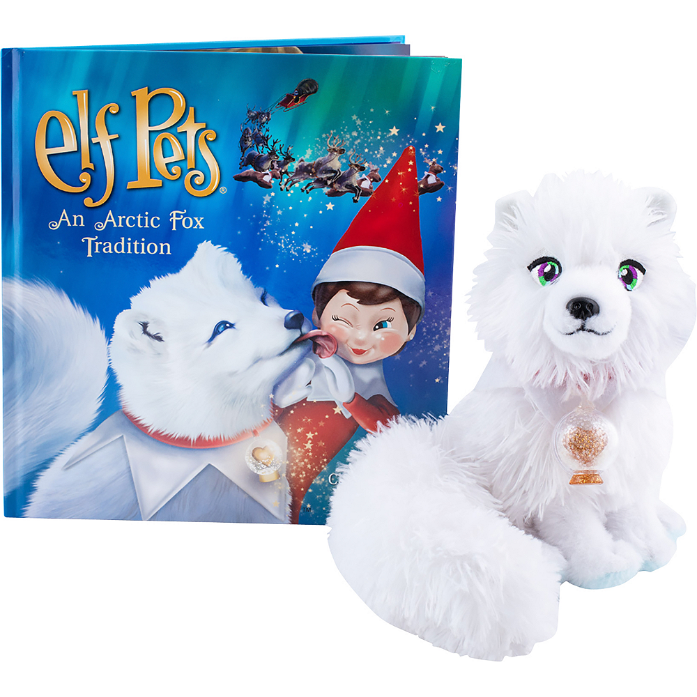 Elf Pets 174 An Arctic Fox Tradition Party City Canada