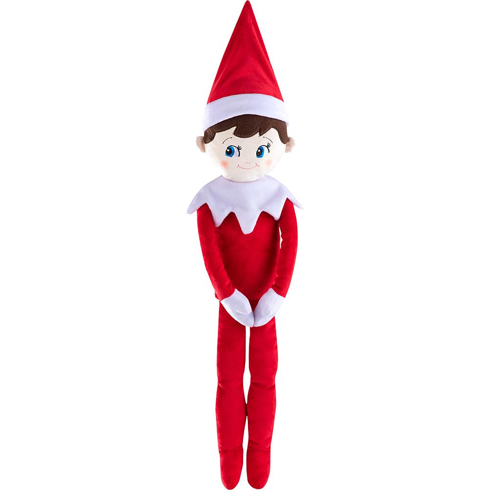 Blue-Eyed Boy Scout Elf Plushee Pals® Huggable - The Elf on the Shelf® Image #1