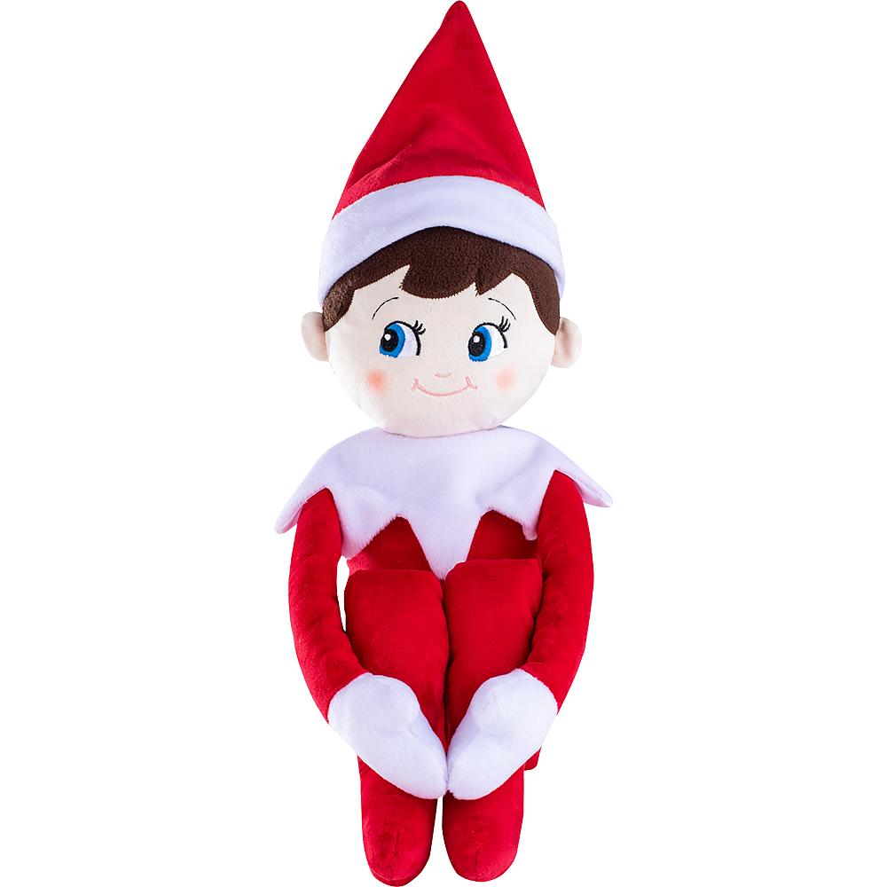 Blue-Eyed Boy Scout Elf Plushee Pals® Huggable - The Elf on the Shelf® Image #2