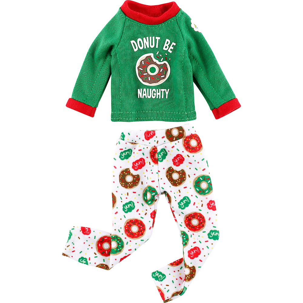 Claus Couture Donut Be Naughty PJs - The Elf on the Shelf Image #2