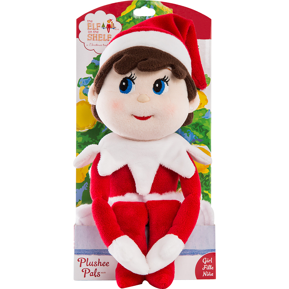 Girl Scout Elf Plushee Pal® - The Elf on the Shelf® Image #1