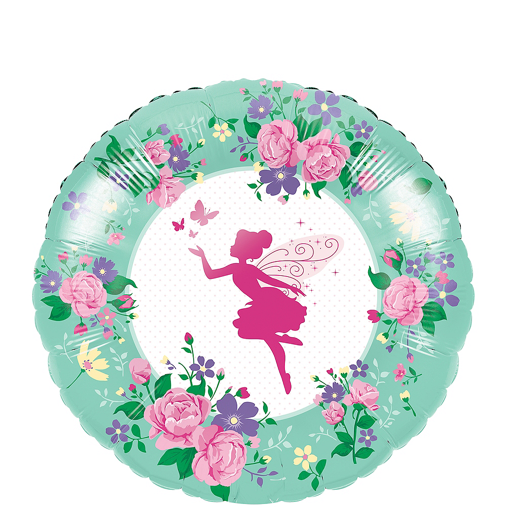 Floral Fairy Balloon, 18in Image #1
