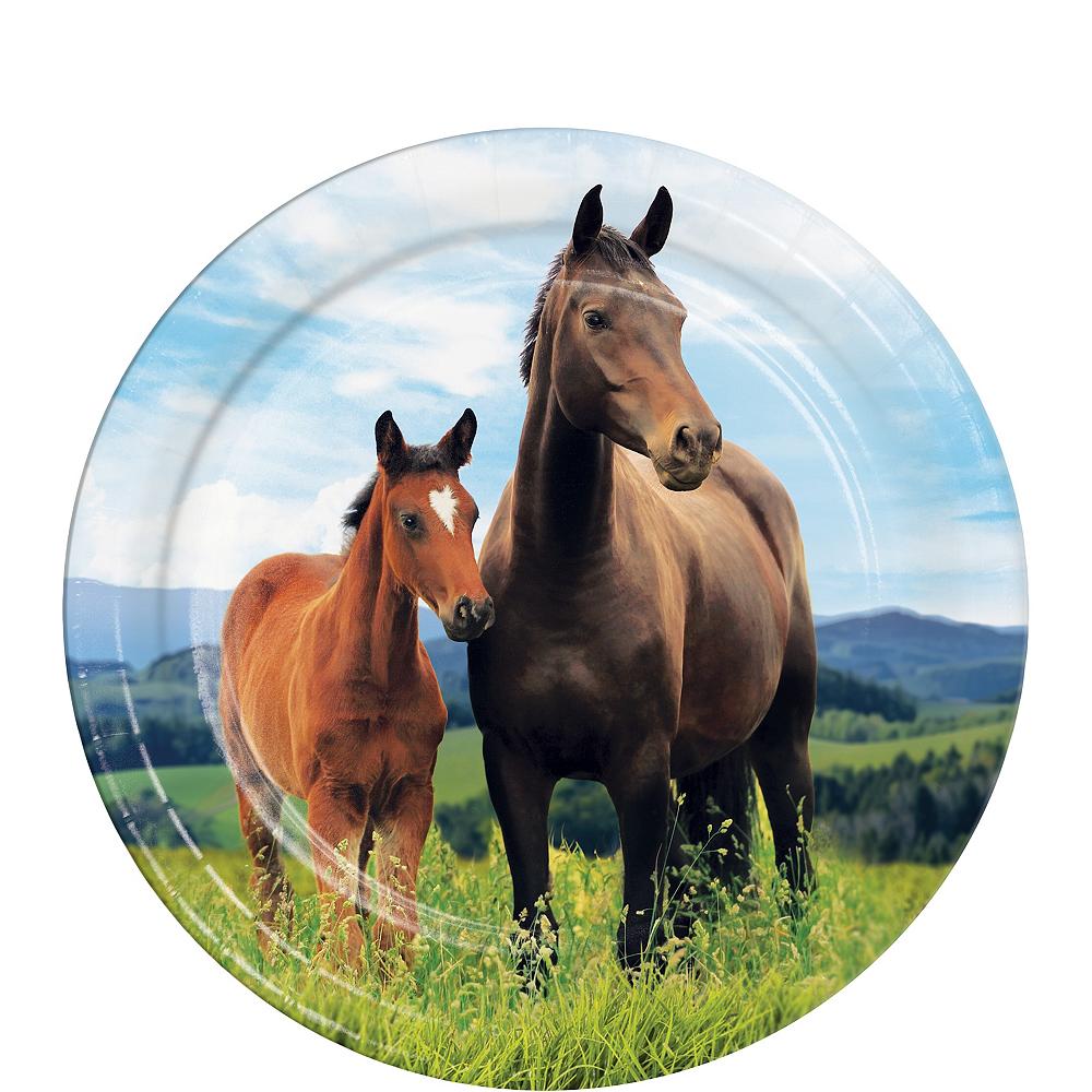 Wild Horse Dessert Plates 8ct Image #1
