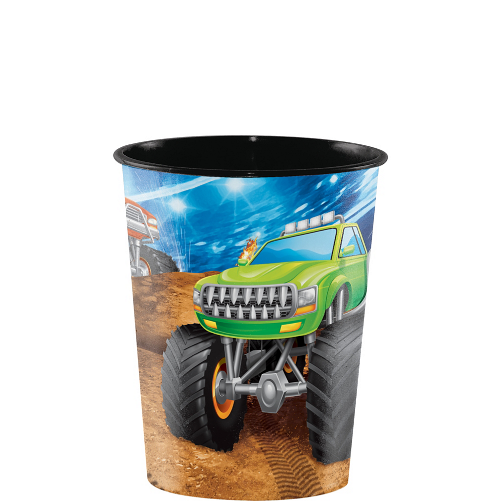 Monster Truck Favor Cup Image #1