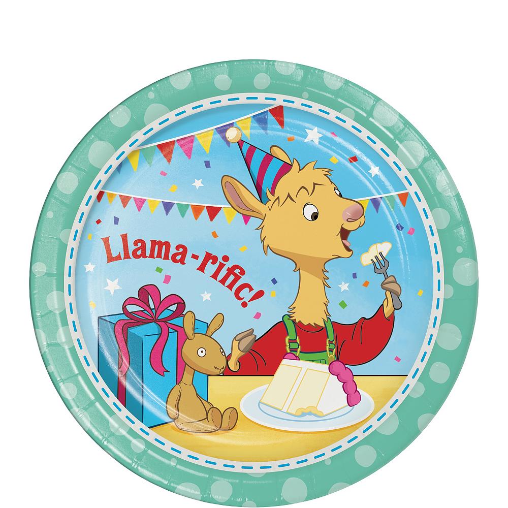 Llama Llama Dessert Plates 8ct Image #1
