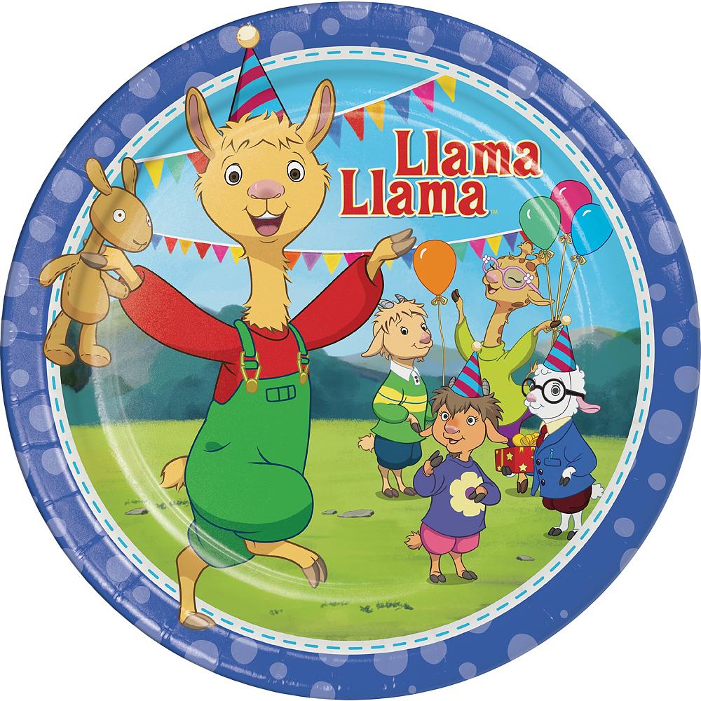 Llama Llama Lunch Plates 8ct Image #1