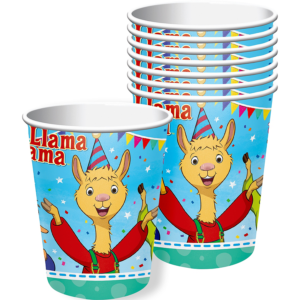 Nav Item for Llama Llama Cups 8ct Image #1