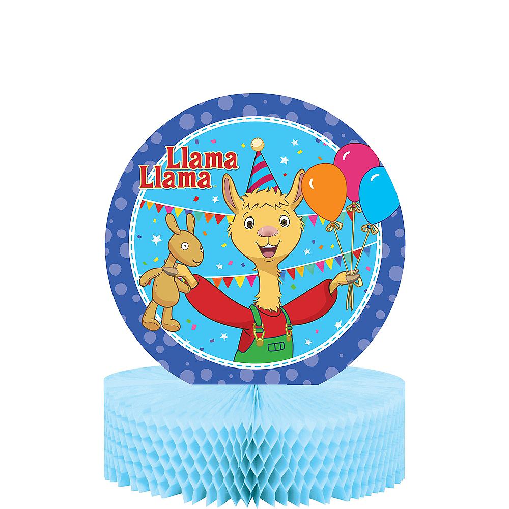 Llama Llama Honeycomb Centerpiece Image #1