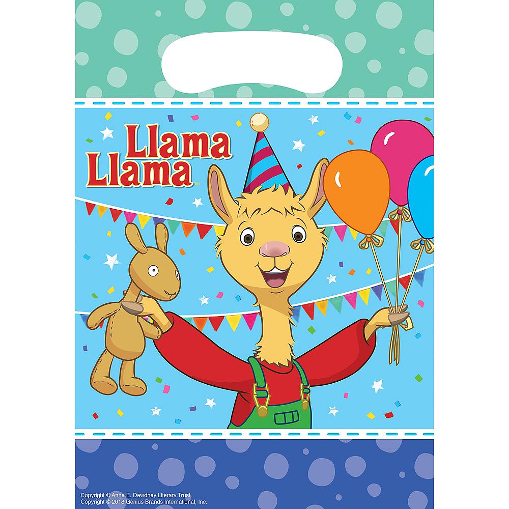 Llama Llama Favor Bags 8ct Image #1