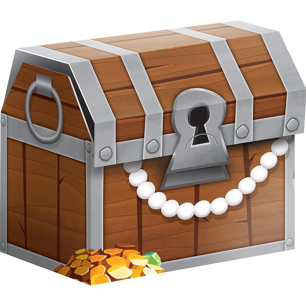 Treasure Island Pirate Favor Boxes 8ct Image #1