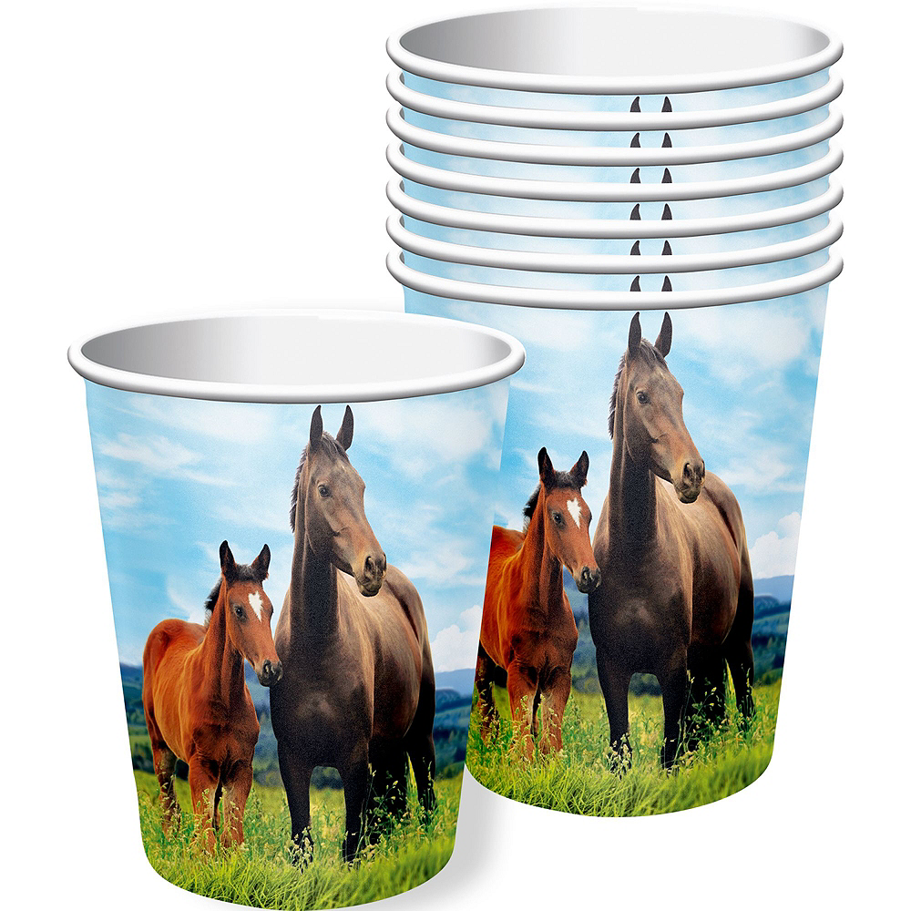 Wild Horse Tableware Kit for 16 Guests Image #6