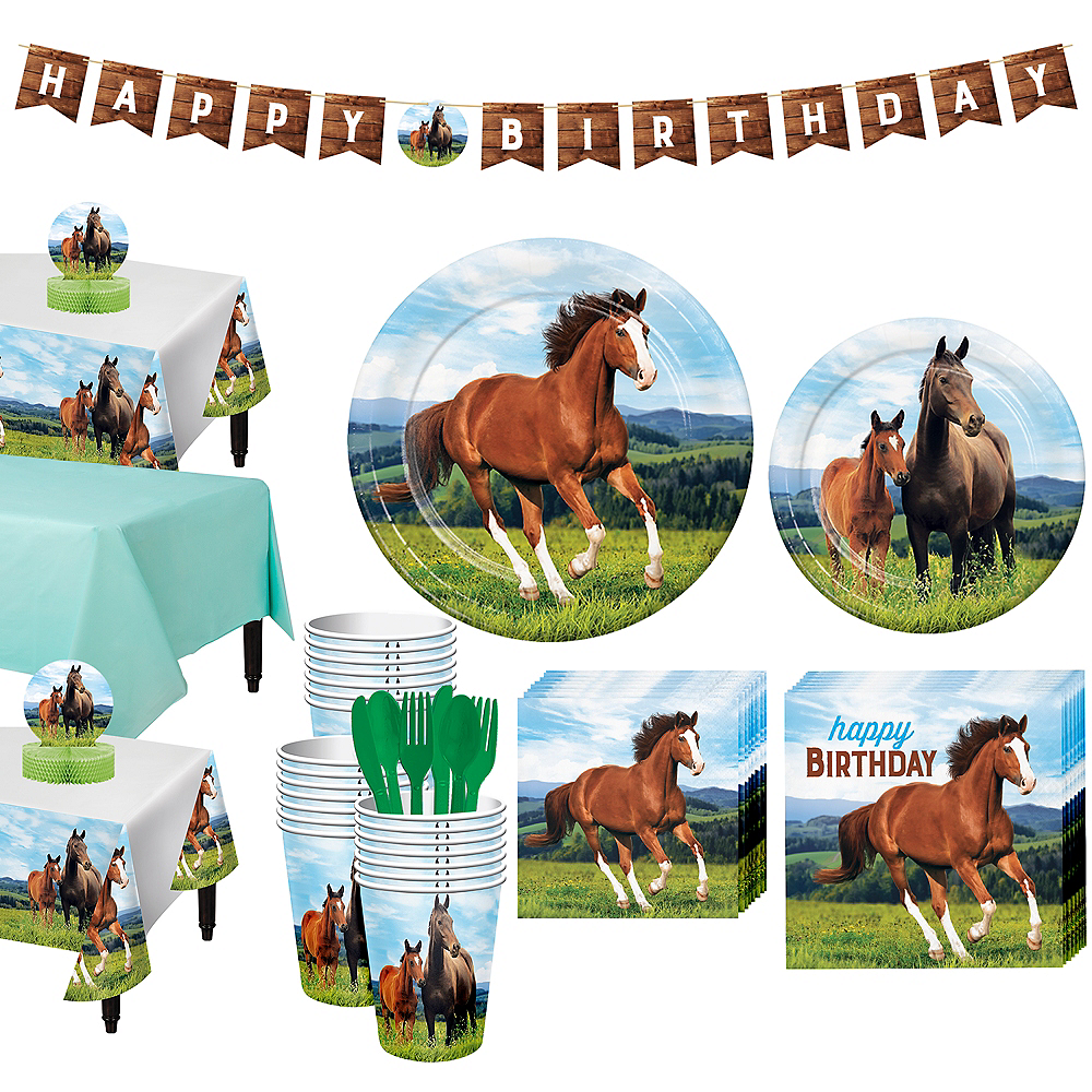 Wild Horse Tableware Kit for 24 Guests Image #1