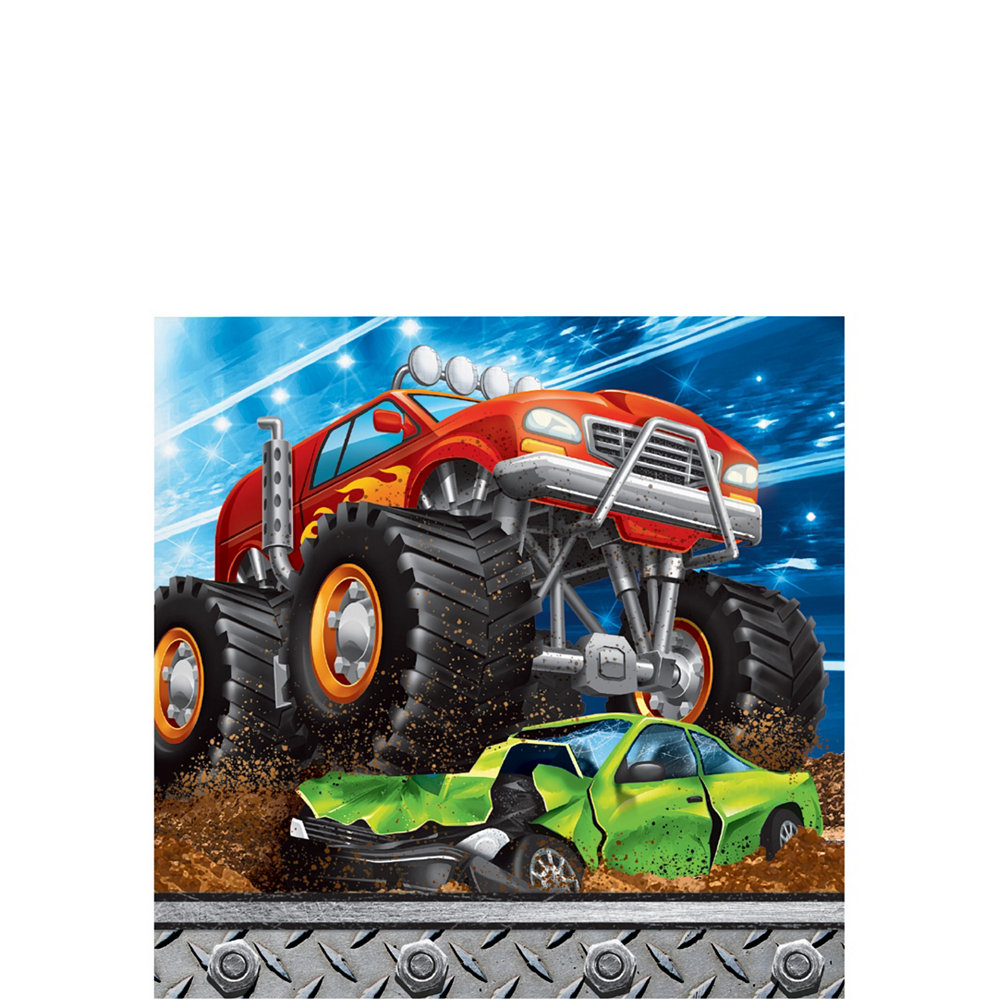 Monster Truck Tableware Kit for 8 Guests Image #4