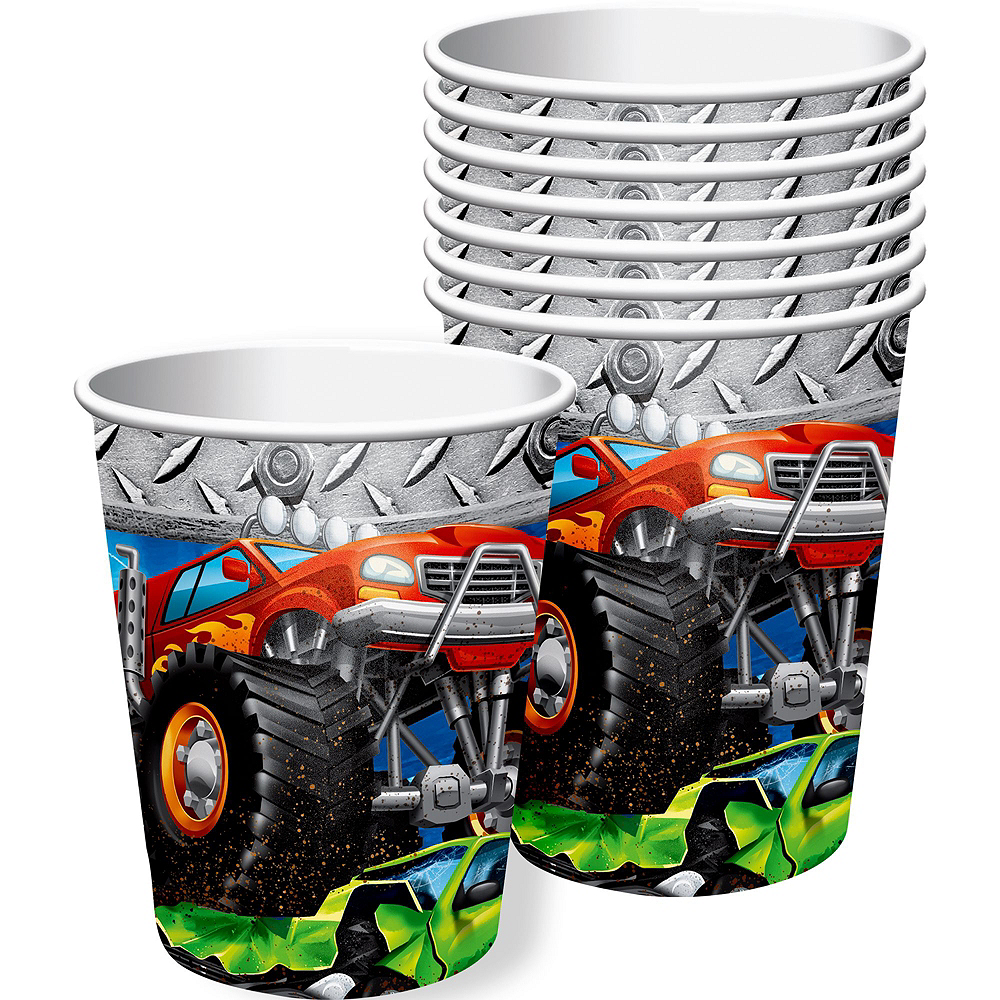 Monster Truck Tableware Kit for 16 Guests Image #7