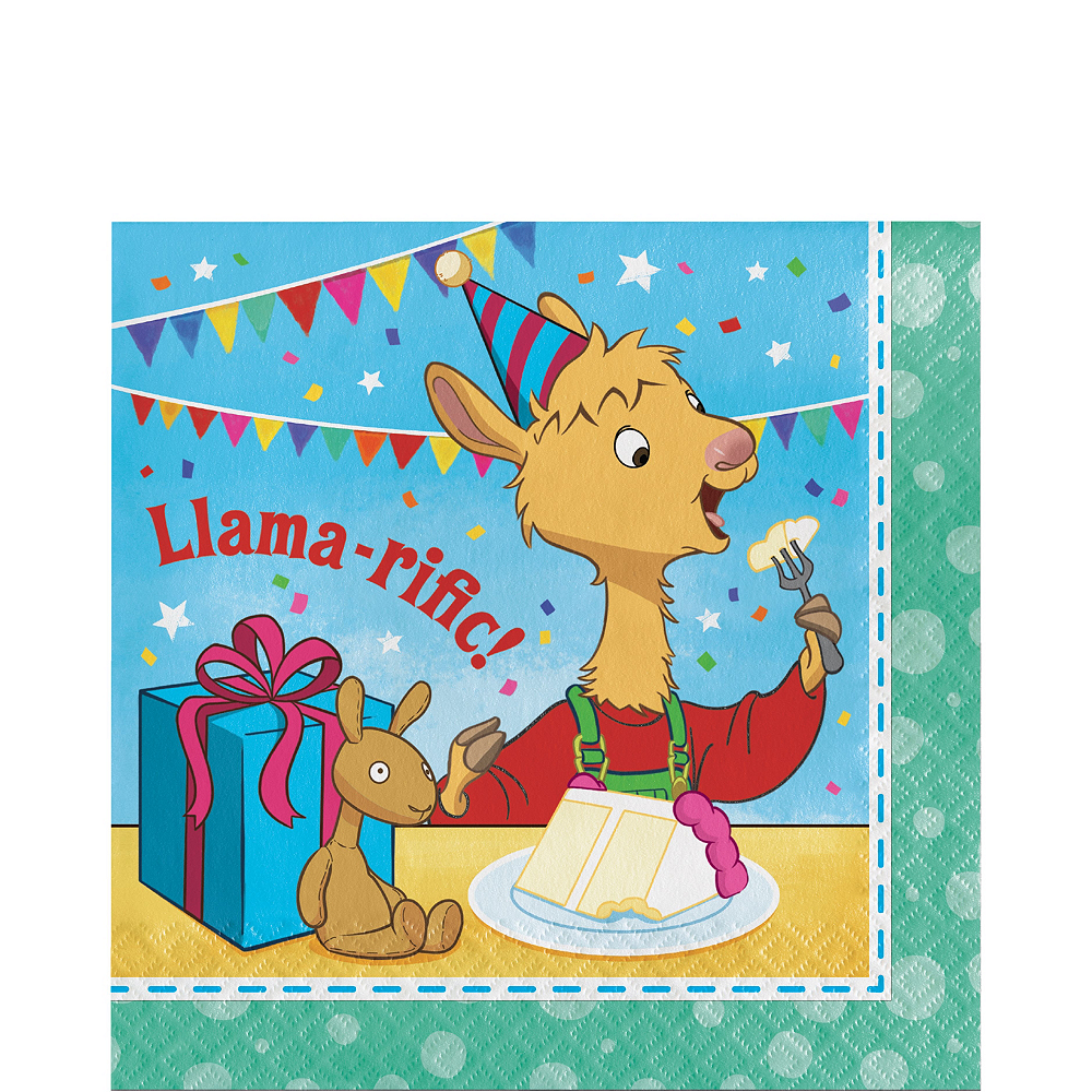 Llama Llama Tableware Kit for 16 Guests Image #5