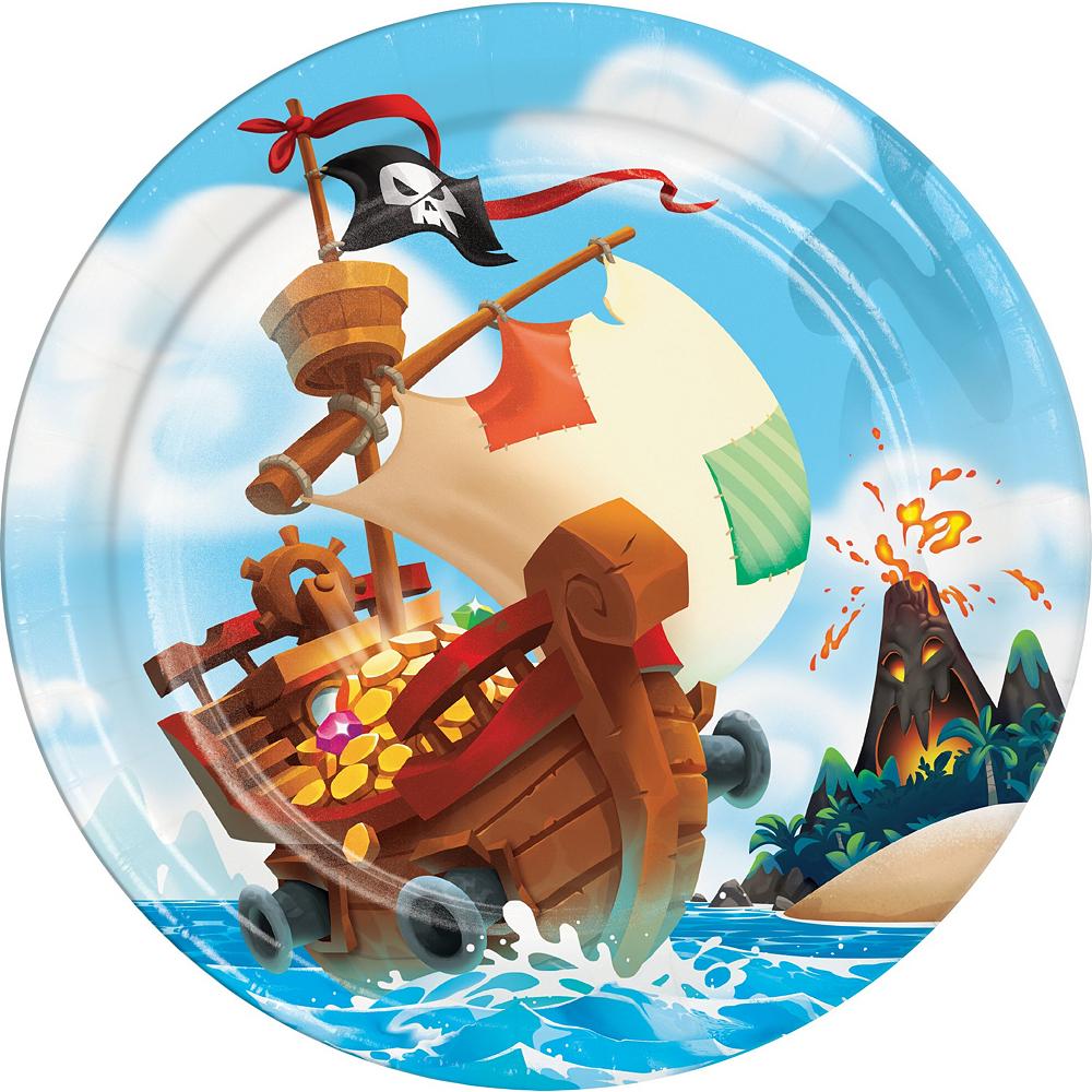 Treasure Island Pirate Tableware Kit for 8 Guests Image #3