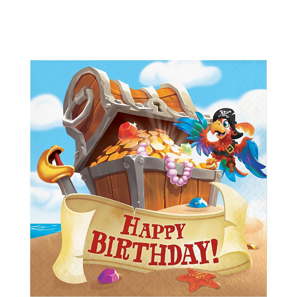 Treasure Island Pirate Tableware Kit for 8 Guests Image #5