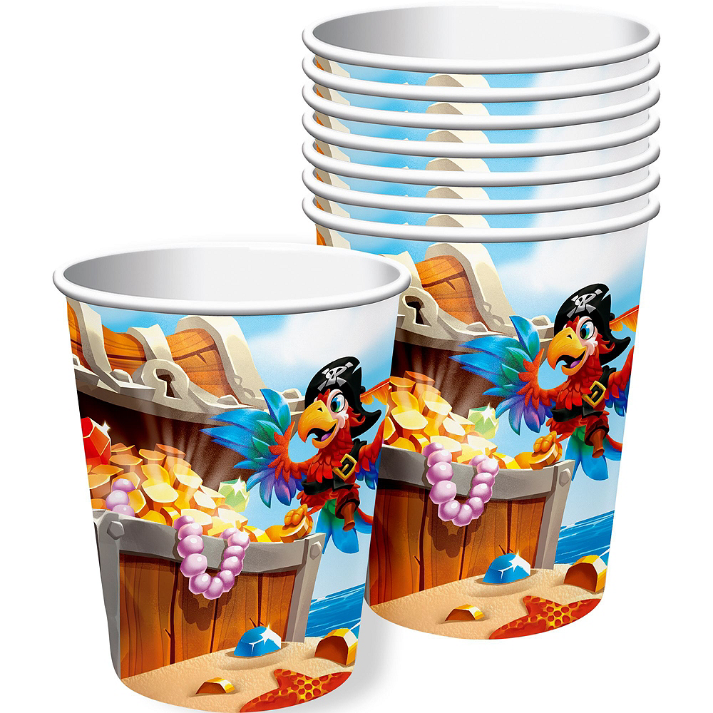 Treasure Island Pirate Tableware Kit for 16 Guests Image #6
