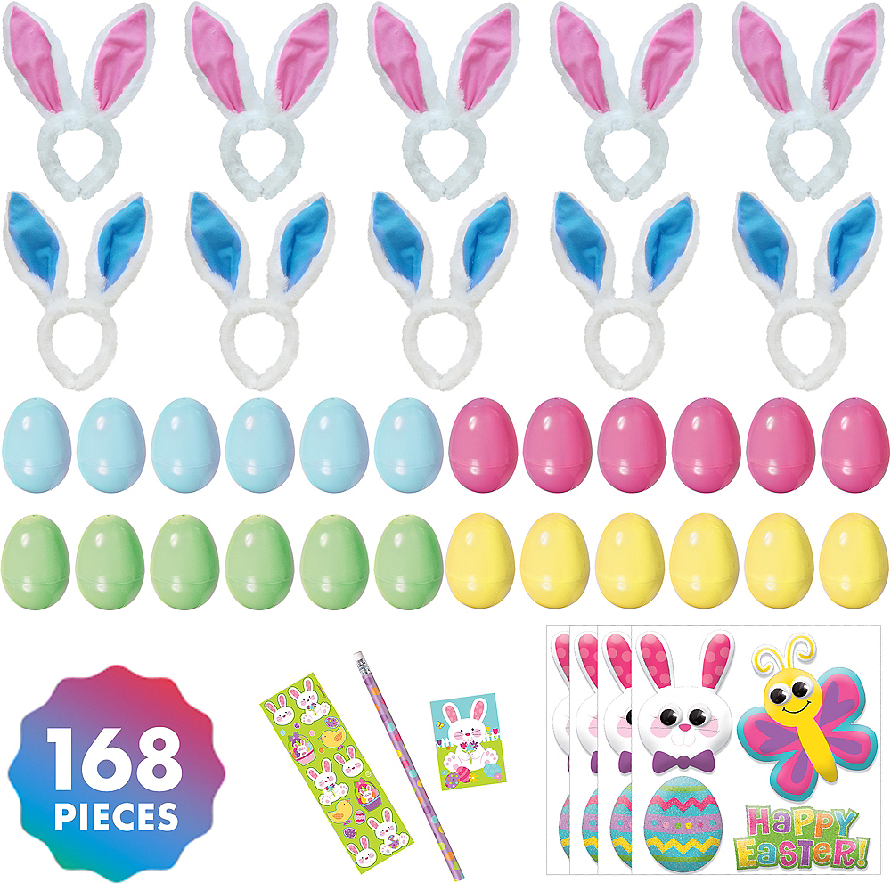 Easter Bunny Ears Favor Kit for 24 Guests Image #1