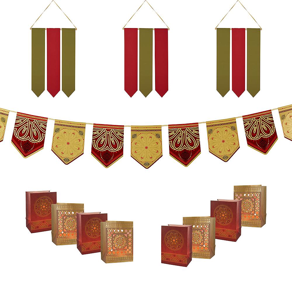 Land of Kings Red Rock Castle Decorating Kit Image #1