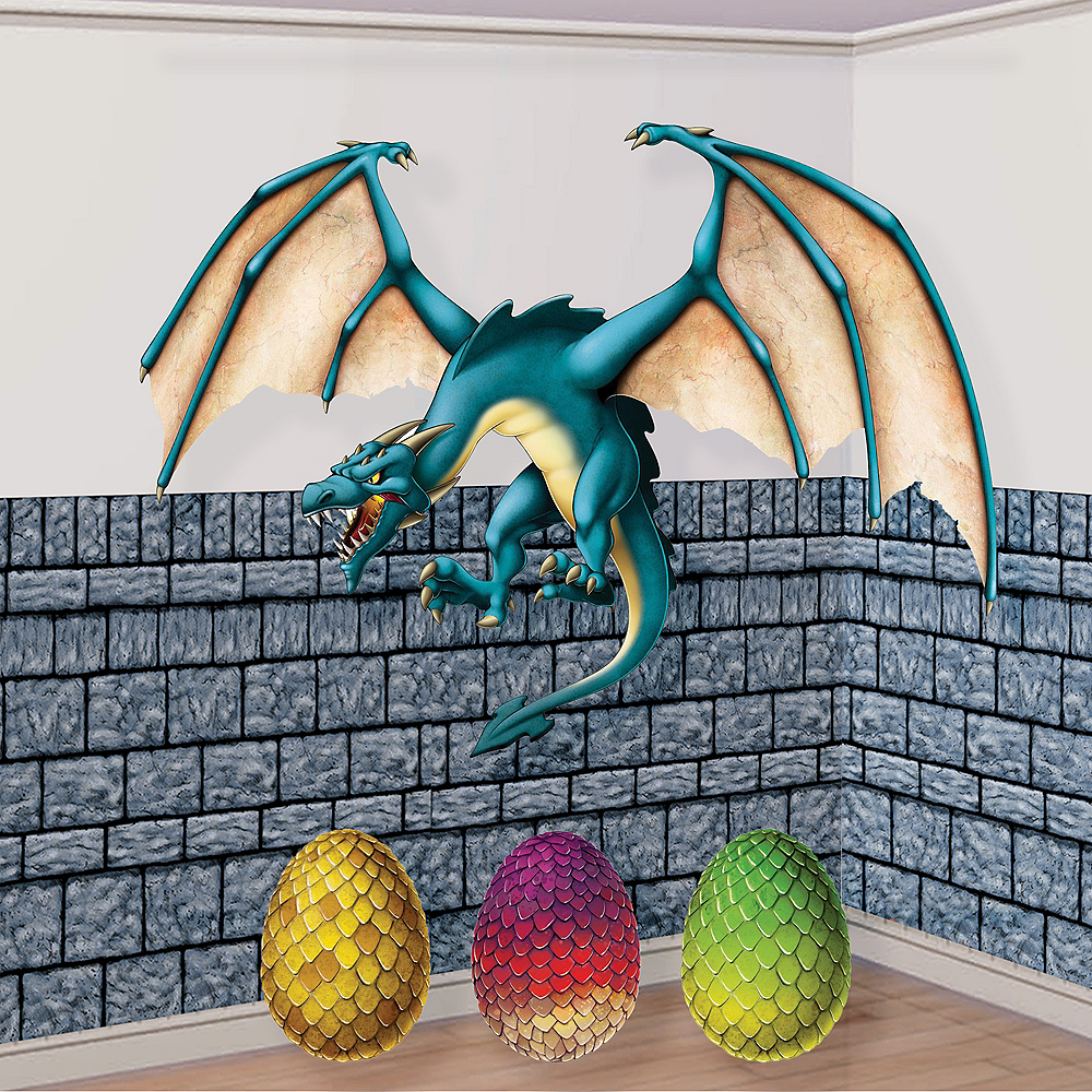 Queen of All Dragons Decorating Kit Image #1