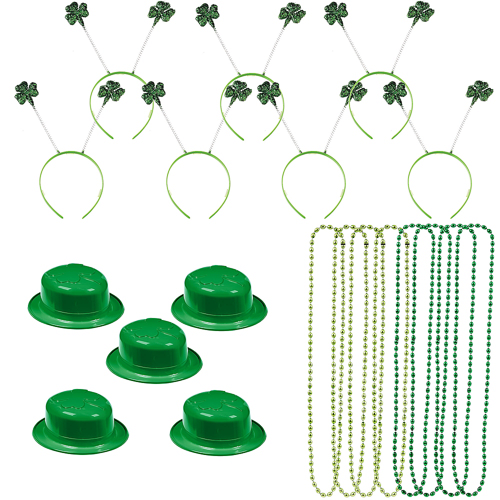 St. Patrick's Day Deluxe Parade Kit for 36 Guests Image #1