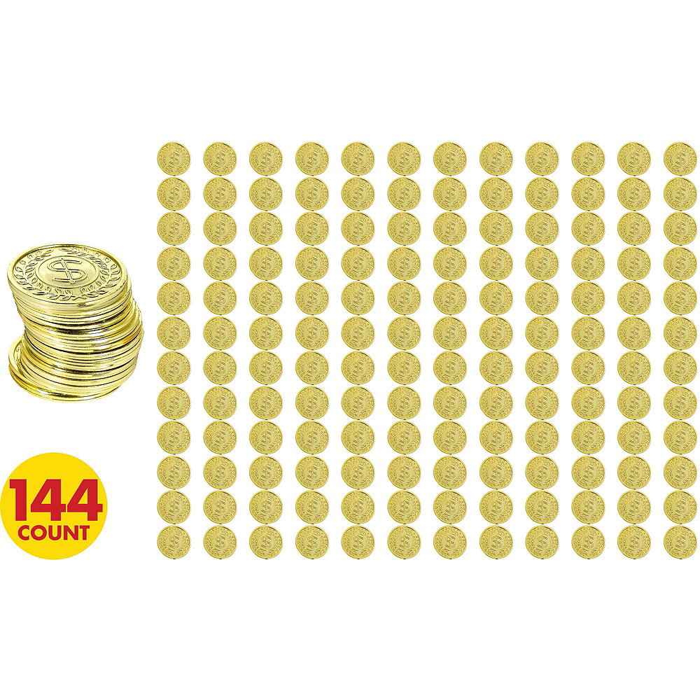 St. Patrick's Day Gold Coins Kit for 24 Guests Image #2