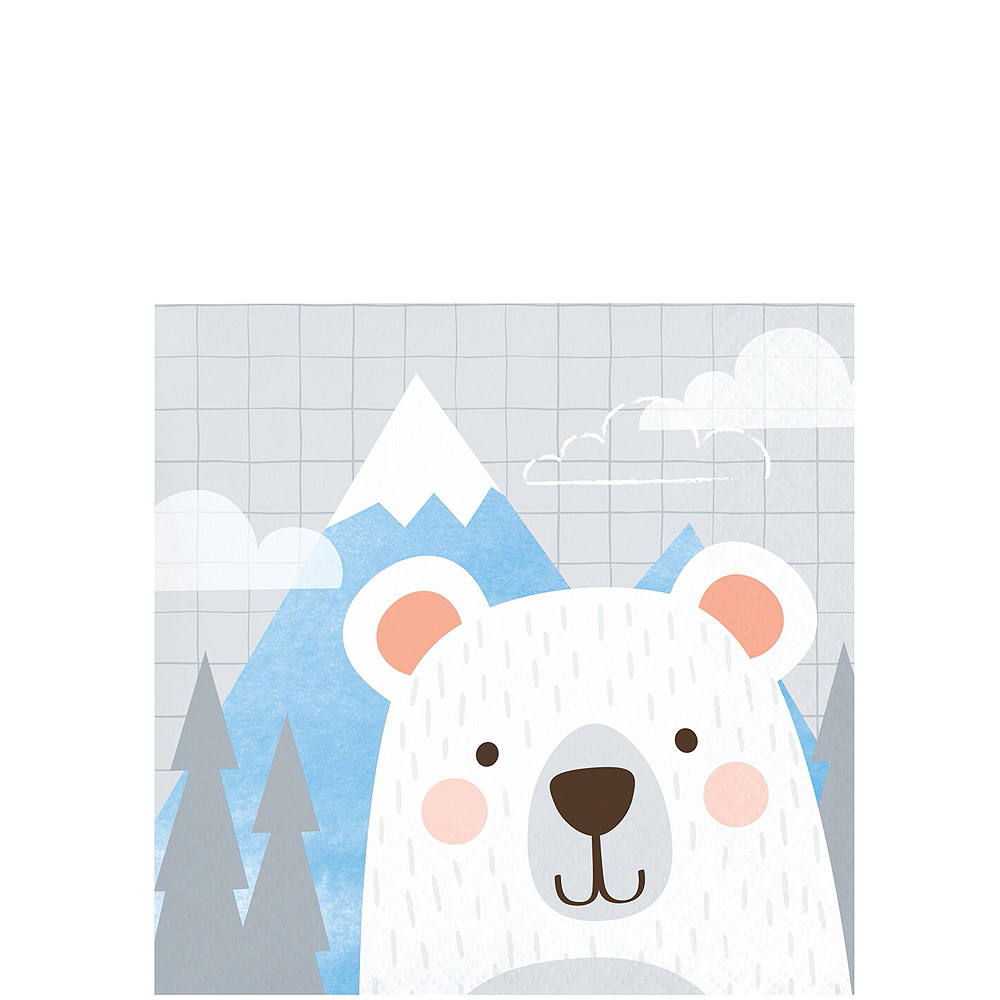 Super Beary Cute 1st Birthday Party Kit for 32 Guests Image #4