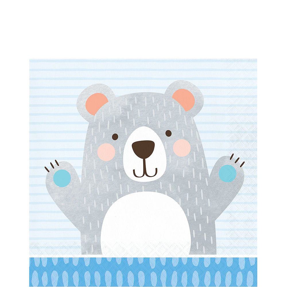 Ultimate Beary Cute Baby Shower Party Kit for 32 Guests Image #5