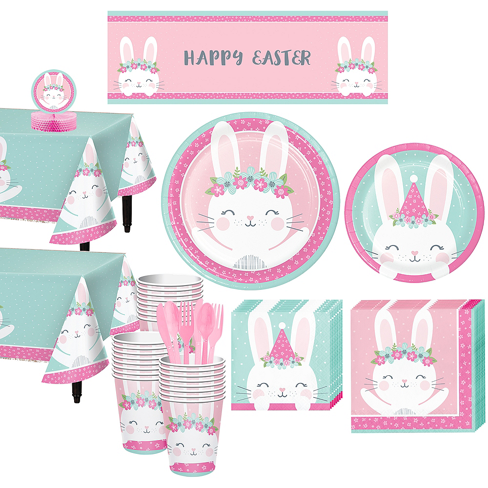 Some Bunny Tableware Kit for 32 Guests Image #1